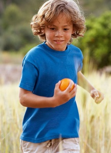 Kinder T-shirt Fruit Of The Loom Kids Valueweight
